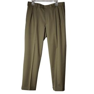 Dockers Collection Relaxed Fit Tan Slacks Men